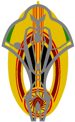 Bajoran-Cardassian Alliance Emblem (Comm Badge) 001
