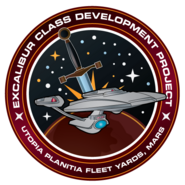 Excalibur class patch by Thomas Morrone