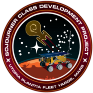 Sojourner class patch by Thomas Morrone