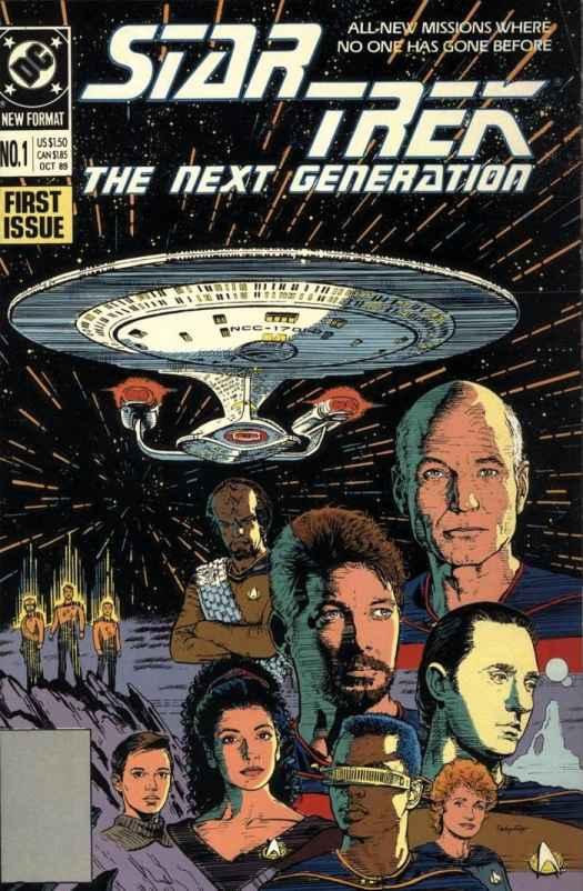 star trek comic book list