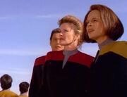 Voyager crew stranded