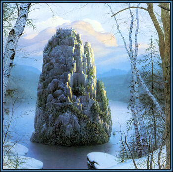 Michael whelan the stone of farewell back stone