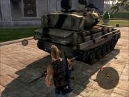Puma Light Tank Rear On Foot
