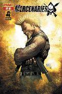 Mercenaries (comic) - Issue 2 Cover