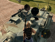 Diplomat Heavy Tank Turret close-up