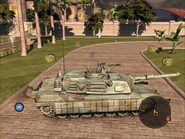 Diplomat Heavy Tank Right Side