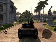 Mantis Light Tank Rear