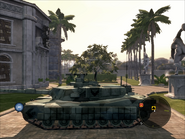 Diplomat Heavy Tank Left Side