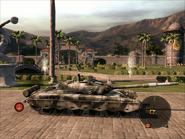Iron Mountain Heavy Tank Right Side