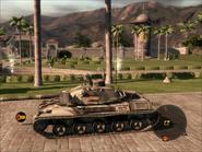 Jaguar Tank Left Side