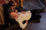 Arthur and Uther last moments