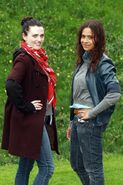 Katie McGrath and Angel Coulby-8