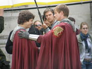 Alexander Vlahos and Bradley James Behind The Scenes Series 5-6
