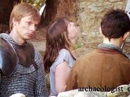 Bradley James and Colin Morgan Behind The Scenes Series 5-1