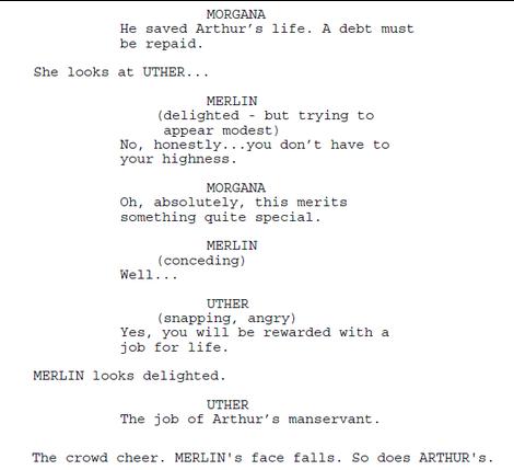 File:Merlin Series 1 Episode 1 Script Origional Version.png
