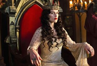 Morgana pendragon red dress