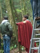 Santiago Cabrera Behind The Scenes Series 4