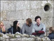 Katie McGrath and Rupert Young Behind The Scenes Series 4