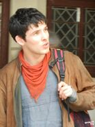 Colin Morgan Behind The Scenes Series 5-8