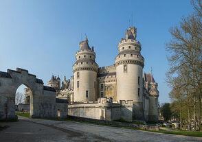 Chateau de Pierrefonds, France - April 2012