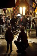 Merlin Cast and Crew Behind The Scenes Series 3-1