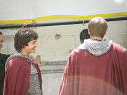 Bradley James and Alexander Vlahos Behind The Scenes Series 5-1
