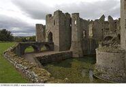 Uk wales monmouthshire reglan castle near 357wbu05381