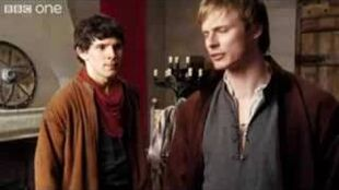 Arthur and merlin fight