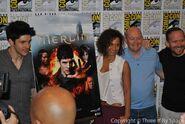 Merlin Cast and Crew Comic Con 2012-7