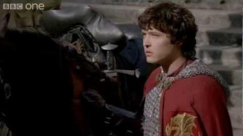 Mordred's first quest as a knight - Merlin - Series 5 Episode 5 - BBC One-0