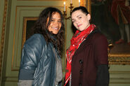 Angel Coulby and Katie McGrath-1