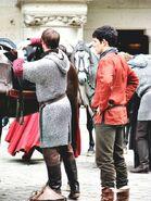 Bradley James and Colin Morgan Behind The Scenes Series 5-2