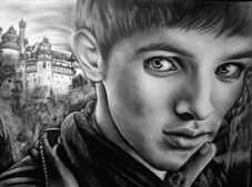 Merlin colin morgan by mariannaeva-d37gnpn