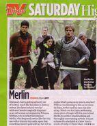 Merlin arthur and mithian