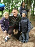 Tom Hopper and Fans Behind The Scenes Series 5