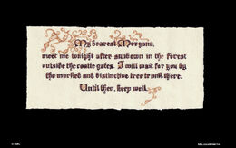 Morgause's note to Morganna