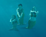 New Trio Underwater