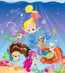 Waverly Mermaids in Water