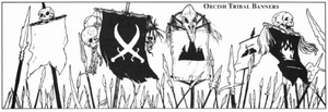 Orc tribal banners