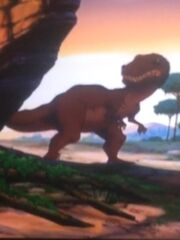 Red Daspletosaurus