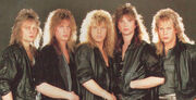 Europe the band 1986
