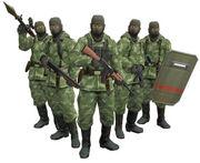 GRU soldiers