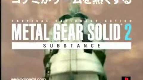 Metal Gear Solid 2 Substance Japanese CM 2