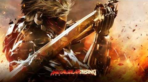 Metal Gear Rising OST - Red Sun (Sundowner's Theme)