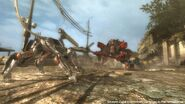 Khamsin battle mech encounters LQ-84i