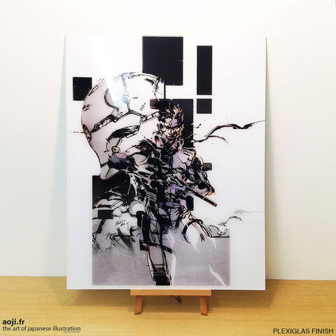 File:MGS-Yoji-Shinkawa-Artwork-Plexiglas-Snake-Gray-Fox.jpg