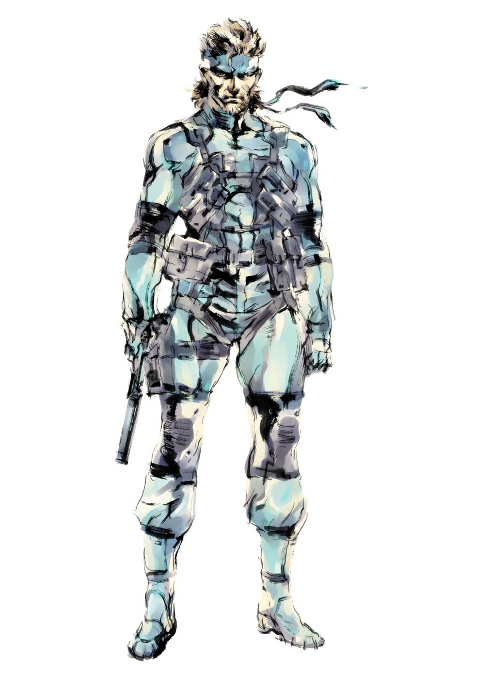 Image Mgsart2png Metal Gear Wiki Fandom Powered By Wikia