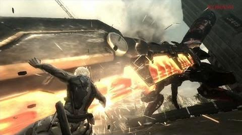 『METAL GEAR RISING REVENGEANCE』キレるWEBムービー(2013.02