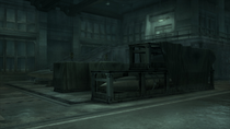 The Nuclear warhead storage building (Metal Gear Solid 4)