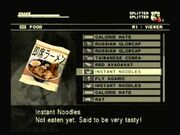 MGS3 Instant Noodles